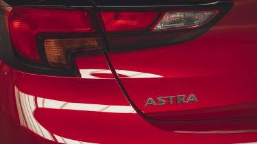 Vauxhall Astra hatchback rear bumper