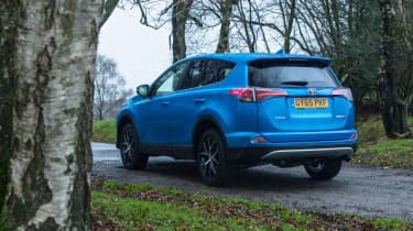 The RAV4 is not the most fun SUV to drive, but it is practical
