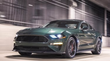 Ford produced its own special edition of the new Mustang to celebrate the film's 50th anniversary.