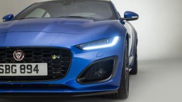 2020 Jaguar F-Type front end detail