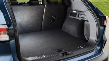 Ford Kuga boot - side view