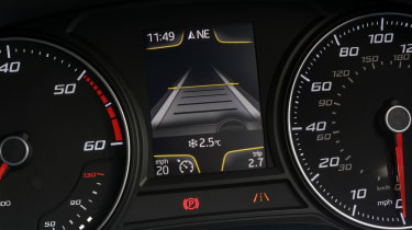 A central dashboard display can be configured to display various information