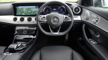 Mercedes E-Class AMG Line interior