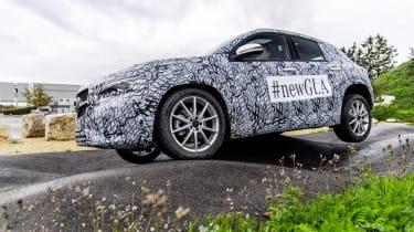 Mercedes GLA testing