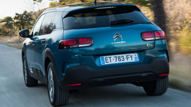 Airbumps made a return to the C4 Cactus, but they're now smaller and more understated