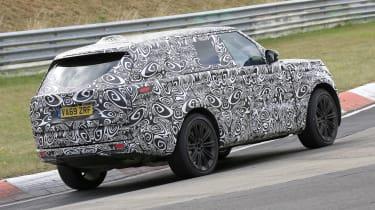 2022 Range Rover - rear view cornering