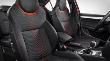Skoda Octavia Sportline - front seats