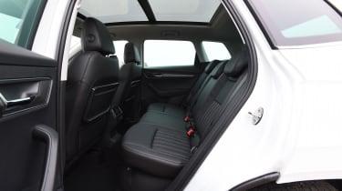 Skoda Karoq SUV back seats