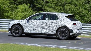 Hyundai 45 SUV prototype testing on Nurburgring