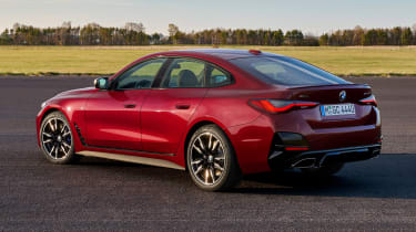 New BMW 4 Series Gran Coupe M440i xDrive - rear 3/4 static