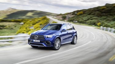 Mercedes-AMG GLE 63 S - front 3/4 dynamic