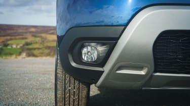 Dacia Duster Prestige front bumper lower detail