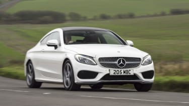 The steering has been tuned to offer more feedback in the Coupe, making it good to drive