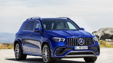 Mercedes-AMG GLE 63 S - front 3/4 static