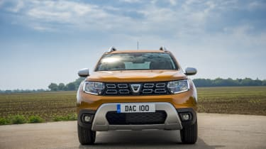 Dacia Duster 1.0-litre 100 TCe - Front static shot