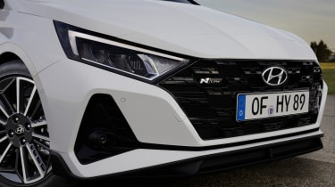 2021 Hyundai i20 N Line - front grille