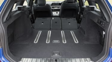 BMW 3 Series Touring boot - seats down