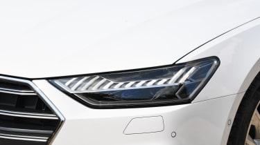 Audi S7 hatchback headlights
