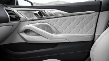BMW M8 Gran Coupe upholstery