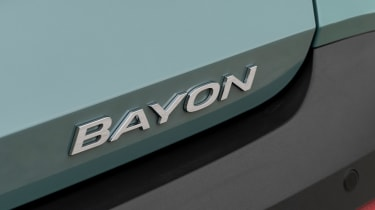 Hyundai Bayon SUV badge