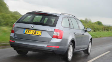 In the Octavia they range from a 1.0-litre TSI petrol to a 2.0-litre TDI diesel