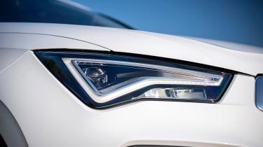 SEAT Ateca SUV headlights