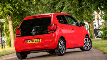 Like the 108, there's a choice of 1.0 and 1.2-litre petrol power