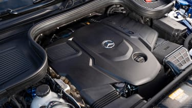 Mercedes GLE Coupe SUV engine