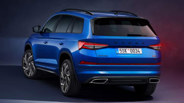 2021 Skoda Kodiaq vRS static rear