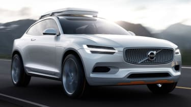 Volvo Concept XC Coupe front tracking