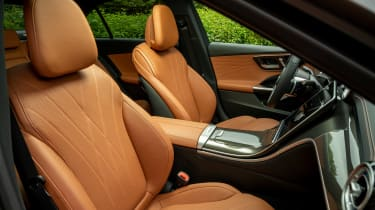 Mercedes C-Class saloon front upholstery