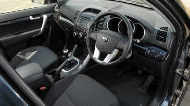 used Kia Sorento interior