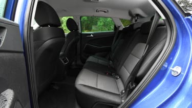 2018 Hyundai Tucson SUV - rear seats