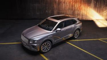 2020 Bentley Bentayga SUV - overhead static