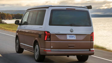 Volkswagen California rear 3/4 tracking