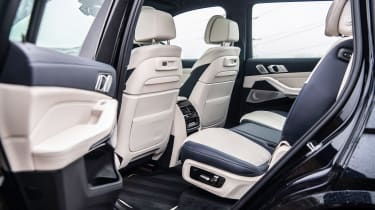 BMW X7 SUV middle row seats