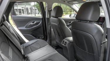 2021 Hyundai i30 rear seats