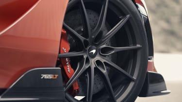 McLaren 765LT - alloy wheel close up