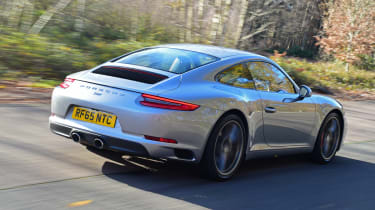 Porsche 911 - rear 3/4 view