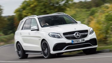 The Mercedes-AMG GLE 63 is a large, powerful and fast luxury SUV