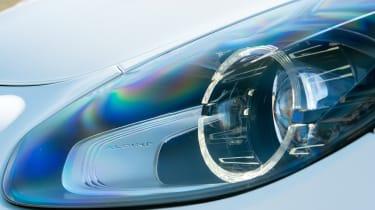 Alpine A110 coupe headlight