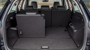 Skoda Kodiaq SUV boot seats folded