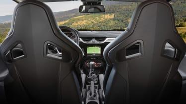 Vauxhall Corsa GSI interior