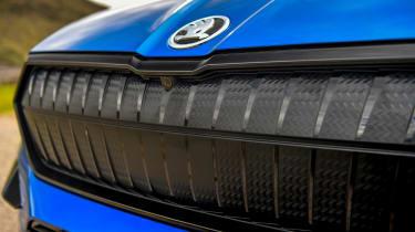 Skoda Enyaq iV SUV - front grille