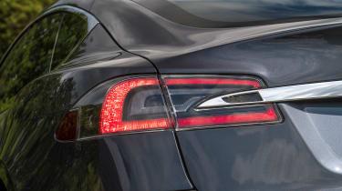 Tesla Model S saloon rear lights
