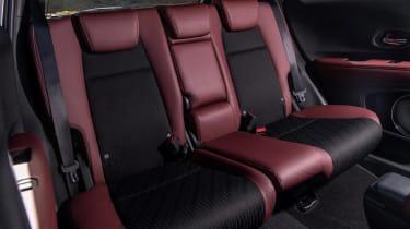 Honda HR-V SUV rear seats