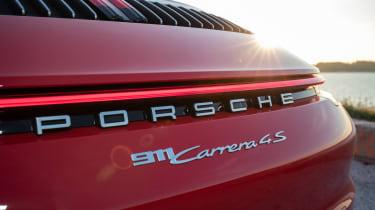 Porsche 911 Cabriolet 2019 badging
