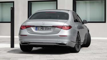 2020 Mercedes S-Class - rear static/rear-wheel steering