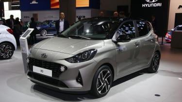 2020 Hyundai i10 - Front 3/4 at Frankfurt