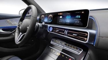 2019 Mercedes EQ C interior
